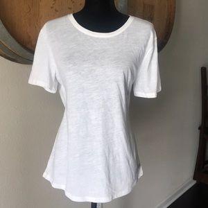 Victoria's Secret White Cotton T-Shirt